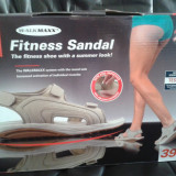 Sandale dama Fitness, firma WALKMAXX, 39, NOI, Originale, Culoare: Bej
