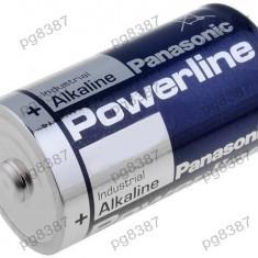 Baterie D, R20, alcalina, 1,5V, Panasonic Powerline-050308
