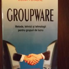 GROUPWARE - METODE, TEHNICI SI TEHNOLOGII PENTRU GRUPURI DE LUCRU - DOINA FOTACHE - Carte Management, Polirom