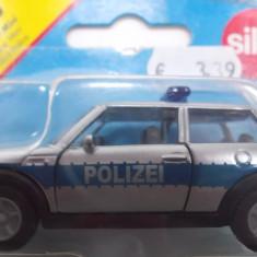 SIKU-SCARA 1/58 -MINI COOPER POLIZEI -++2501 LICITATII !! - Macheta auto