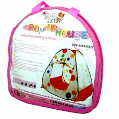 Cort de joaca cu bulinute - Casuta/Cort copii