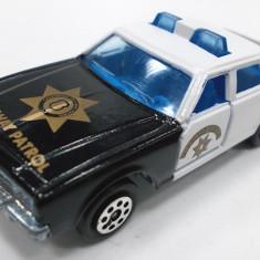 MAJORETTE-REGULAR-SCARA 1/64 -POLICE CRUISER - ++2501 LICITATII !!