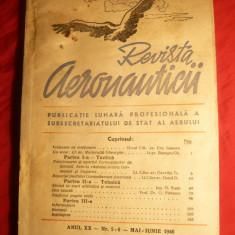 Revista Aeronauticii 1946 - Ilustratii, 145pag - Carti Electronica