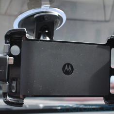 Auto car Docking station Stand Dock masina suport parbriz cu ventuza Original OEM MOTO DROID RAZR XT912 XT910 nu pt MAXX pt incarcare cu mufa microUSB - Suport auto Motorola, Motorola RAZR XT910