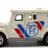 MAJORETTE-REGULAR-SCARA 1/64 -SECURITY BANK- ++2501 LICITATII !!, 1:64, Siku