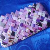 Genti Handmade - Geanta Dama, Geanta plic, Mov, Mare