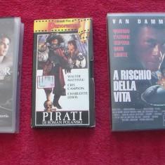Casete video / set 3buc