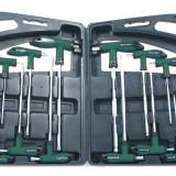 Mannesmann set 16 piese torx+inbus cu maner lung - Cheie mecanica