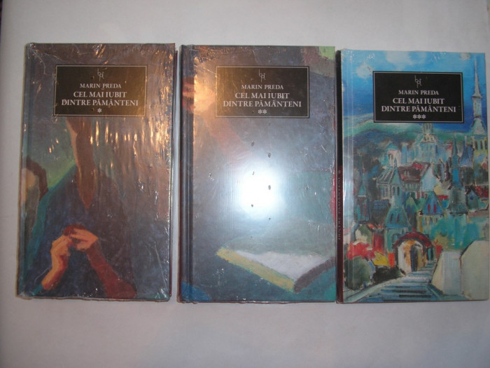 CEL MAI IUBIT DINTRE PAMANTENI-MARIN PREDA 3 VOL ,ART,RF4/3