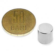 Magnet neodim disc 10/10 mm N45  4Kg  generatoare eoliene, modificare alternator