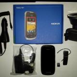 NOKIA + BLUETOOTH + PACHET CAR DRIVE + CARD MICRO SD 16 GB - Telefon Nokia, Negru, 8GB, Neblocat, Single core, 1 GB