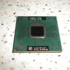 Procesor laptop intel T5450 core 2 duo 1.66/2M/667 socket P, Intel Core 2 Duo, 1500- 2000 MHz, Numar nuclee: 2, P