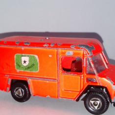 Macheta EFSI - COMMER 302 - FIRE - SERVICE, fabricata in Olanda - Macheta auto, 1:64