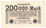 Germania bancnota 200.000 mark marci 09.08.1923 UNC