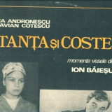 -Y- COCA ANDRONESCU SI OCTAVIAN COTESCU IN ' TANTA SI COSTEL  - CA NOU ! VINIL