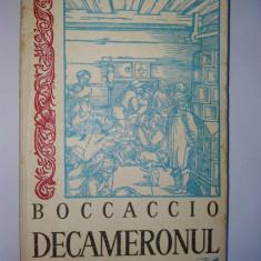 Decameronul - Boccaccio ( vol. I ) Ed. Cartea Romaneasca 1970