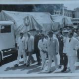 Crucea Rosie, 17 August 1945, Petru Groza, fotografie originala - Autograf