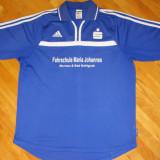 Tricou Adidas CLIMALITE - Tricou barbati Adidas, Marime: XL, Culoare: Albastru, Maneca scurta, Poliester