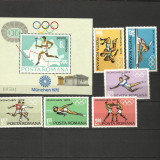 PREOLIMPIADA MUNCHEN 1972 +++ MNH +++ - Timbre Romania, Nestampilat