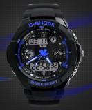 Ceas SKMEI S - Shock rezistent la apa 5 culori functii alarma calendar CADOU, Lux - sport, Quartz, Cauciuc