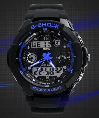 Ceas SKMEI S - Shock rezistent la apa 5 culori functii alarma calendar CADOU foto