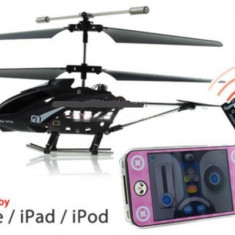 I-Helicopter iPhone Control Model King, 8-10 ani, Metal, Baiat