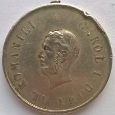 Medalie - Carol I. Domn al Romaniei - Virtute militara - Clasa II - Medalii Romania