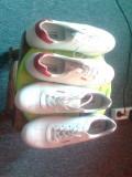 Pantofi sport bontimes dama, 38, 40, Alb, Piele naturala