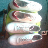 Pantofi sport bontimes dama - Adidasi dama, Culoare: Alb, Marime: 38, 40, Piele naturala
