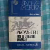 Prometeu erou al litaraturii universale - Carte educativa