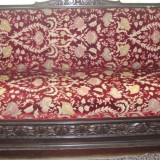 Canapea stil florentin sculptura lemn 100 de ani, Altul, 1900 - 1949