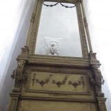 Oglinda mare stil Régence - Arta din Sticla