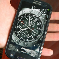 VAnd Samsung Galaxy S3 - Telefon mobil Samsung Galaxy S3, Albastru, 16GB, Neblocat, Quad core, 1 GB