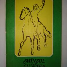 Manzul cu stea in frunte - Ion Filipciuc Ed. Ion Creanga 1984 - Carte de povesti