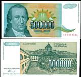 !!! IUGOSLAVIA - 500.000 DINARI 1993 - P 131 - UNC