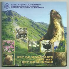 ROMANIA SET MONETARIE 2007, 75 ANI INFIIN PARCULUI NAT MUN RODNEI, nr. BNR 312 - Moneda Romania