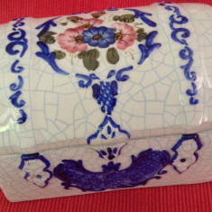 Frumoasa caseta din ceramica pictata manual !!! - Arta Ceramica