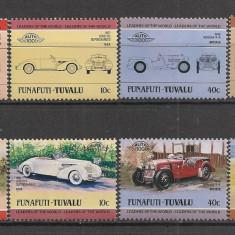 Tuvalu-Funafuti.1984 Automobile RL.336 - Timbre straine