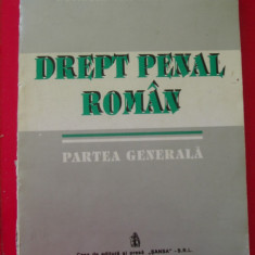 DREPT PENAL ROMAN - CONSTANTIN MITRACHE - Carte Drept penal