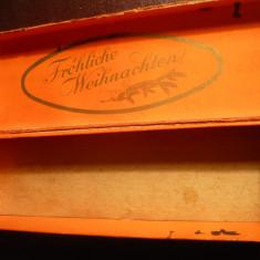 Cutie de cadouri Craciun - bijuterii - Germania interbelica - Cutie Bijuterii