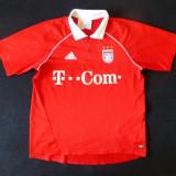 Tricou Adidas FC BAYERN MUNCHEN Climacool; marime M: 53 cm bust, 56 cm lungime - Tricou barbati Adidas, Marime: M, Culoare: Din imagine