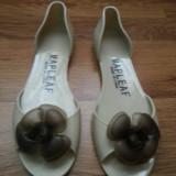 Sandale dama, Culoare: Crem, Marime: 40, Crem