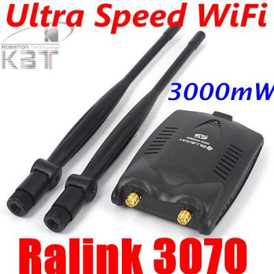 WiFi password decoder acces internet de mare putere 3000mW USB foto