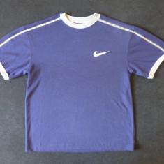 Tricou cu logo-ul Nike; marime S: 48 cm bust, 54.5 cm lungime, 48.5 cm umeri - Tricou barbati Nike, Marime: Alta, Culoare: Din imagine