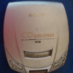 CD WALKMAN  SONY  ESP 2 , MODEL  D-E201 ,DEFECT !