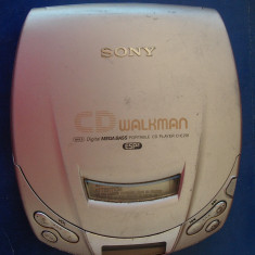 CD WALKMAN SONY ESP 2, MODEL D-E201, DEFECT ! - CD player