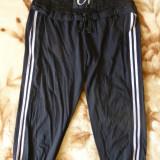 Pantaloni ¾ Doha cu dantela; marime M: 70-96 cm talie elastica; 73.5 cm lungime