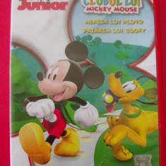 DVD CLUBUL LUI MICKEY MOUSE, MINGEA LUI PLUTO, PASAREA LUI GOOFY, DE AGOSTINI - Film animatie cartoon, Romana