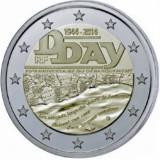 2 euro comemorativ FRANTA 2014, UNC