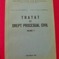 TRATAT  DE DREPT PROCESUAL CIVIL - ILIE STOENESCU,S.ZILBERSTEIN